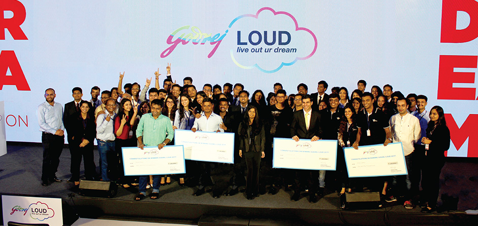Meet our Godrej LOUD 2017 winners
